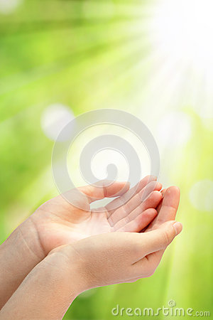 Open Empty Hands Stock Images - Image: 26927584
