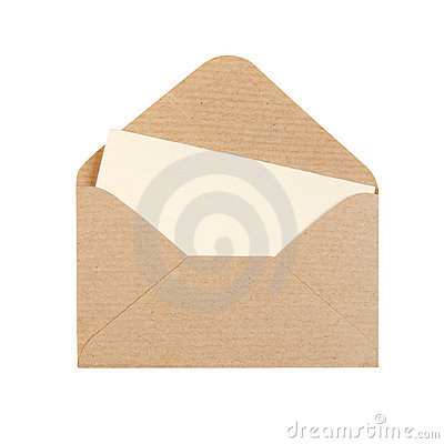 Free Open Envelope Stock Image - 11858361