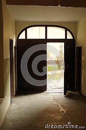 Open exit