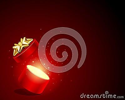Open explore shiny gift