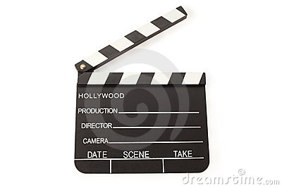 Open Film Slate (Clapper board)