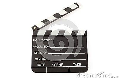 Open Film Slate (Clapper board)
