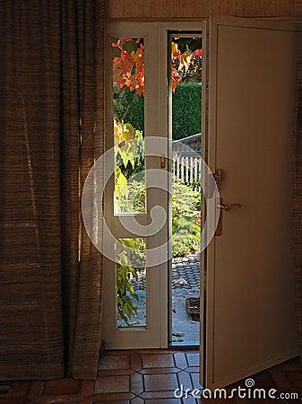 An Open Front Door