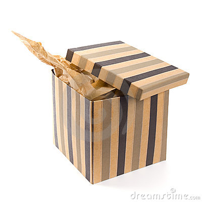 Free Open Gift Box Stock Photography - 8786842