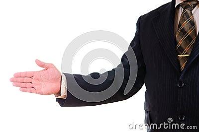An open hand