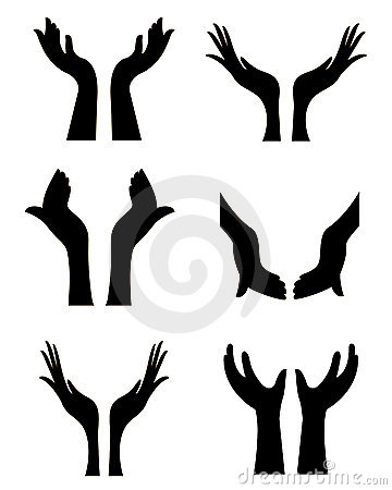 Free Open Hands Stock Photography - 21084352