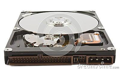 Open hard drive unit