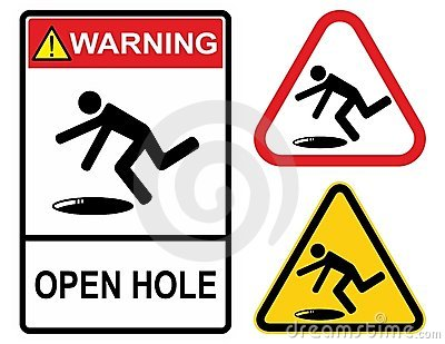 Open hole