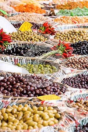 Open Market Olives
