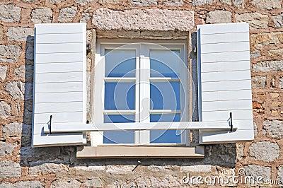 Open Mediterranean window
