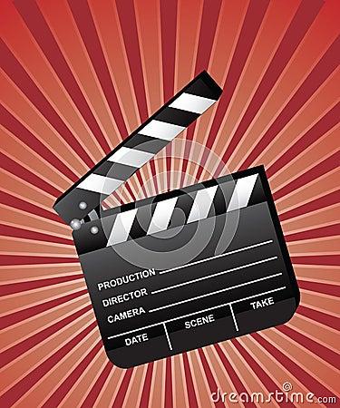 Open Movie Clapboard
