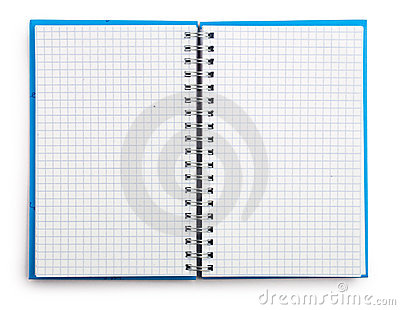 Open notepad isolated