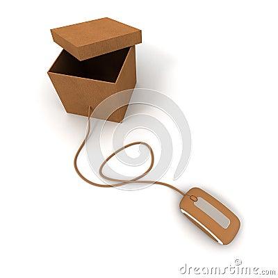 Open parcel online