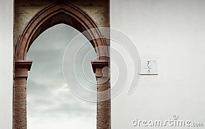 Open passage