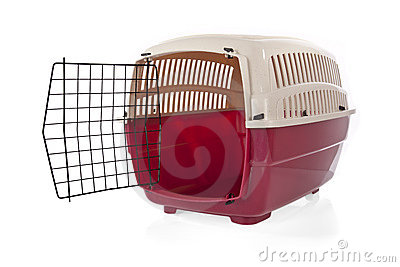 Open pet carrier