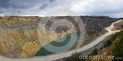 Open Pit  Lake