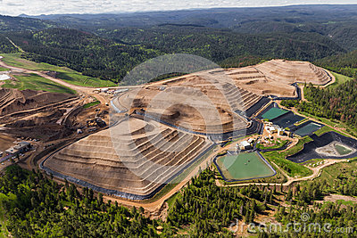 Open Pit Mine Stock Photo Image 42171919