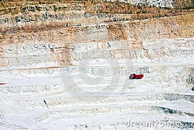 Open-pit mine in Czech