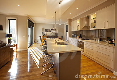 Open Plan Kitchen:Kitchen Decorating Ideas