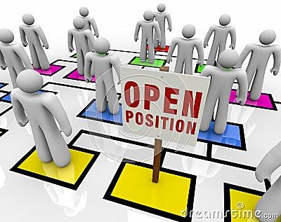 Open Position in Organizational Chart