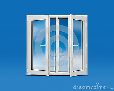 Open Pvc Windows