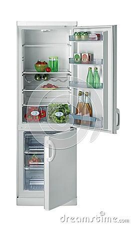 Free Open Refrigerator Royalty Free Stock Photo - 9194245