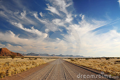 The Open Road Stock Photo - Image: 15761060