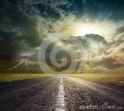 Free Open Road Royalty Free Stock Photo - 32852505