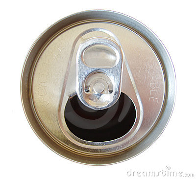 Open Soda Can Top Royalty Free Stock Photography Image