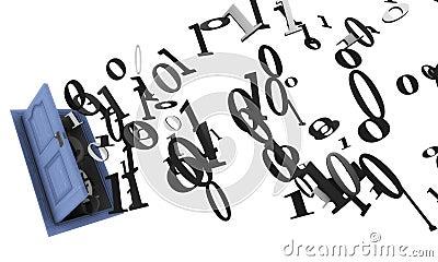 Abstract binary code