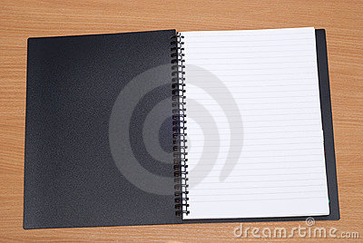 Open spiral book