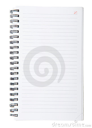 Open Spiral Notebook Open Spiral Lined Note...