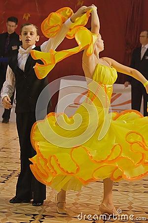 Open Standard Dance Contest, 12-13 (1) Editorial Image
