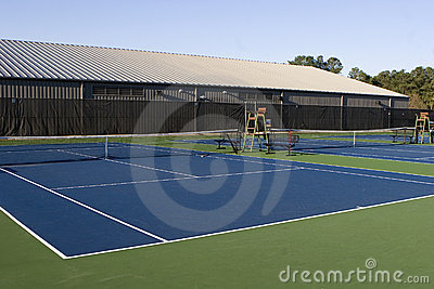 Open Tennis Courts