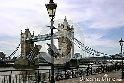 The Open Tower Bridge - London - England