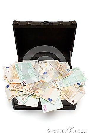 Free Open Treasure Chest Royalty Free Stock Photo - 1960905