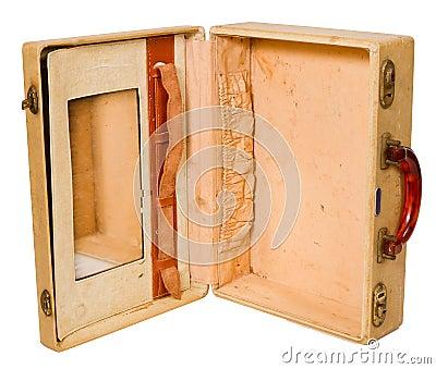 Open Vanity Suitcase