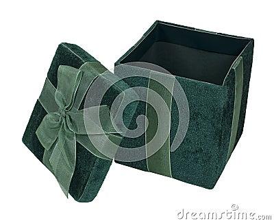 Open Velvet Gift Box