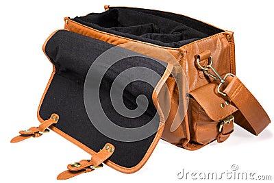 Open vintage bag
