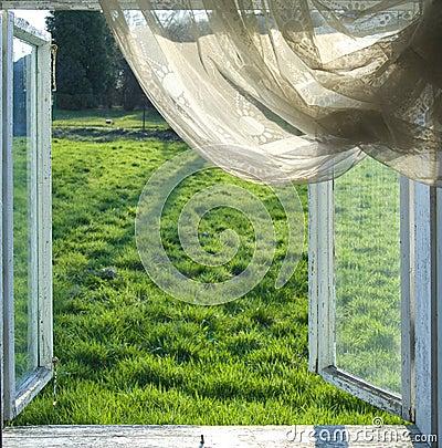 Free Open Window Stock Photography - 9012322