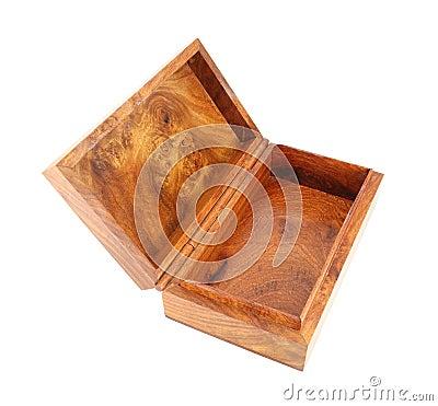 Open wooden box (Myanmar style)