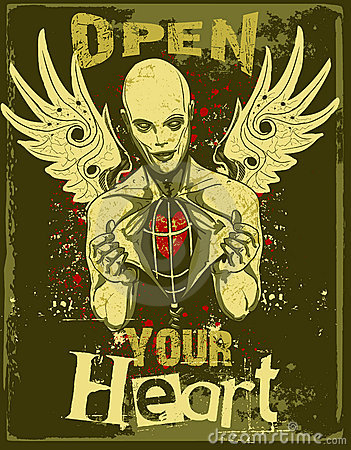 Open your heart evil