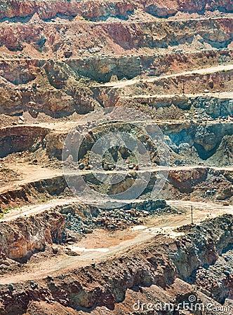 opencast quarry