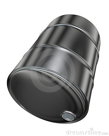 Opened barrel