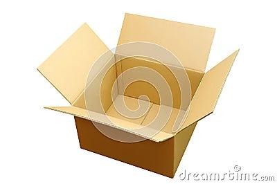 Opened box overlook