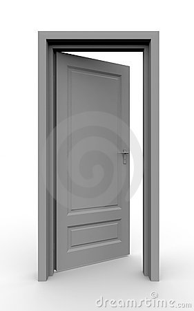 Free Opened Door Royalty Free Stock Images - 3068519