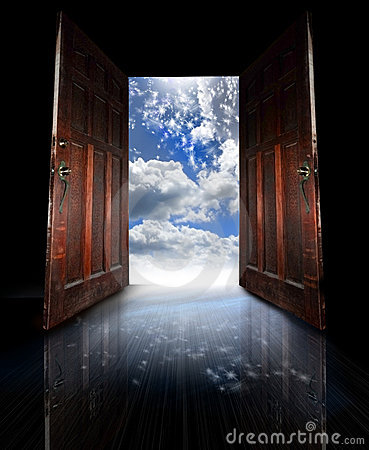 Free Opened Doors Stock Photography - 6393262