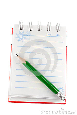 Free Opened Notebook Royalty Free Stock Images - 28342099