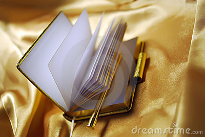 Opened Personal Notebook Organize on Gold