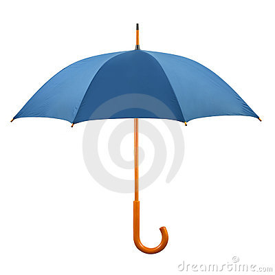 Opened umbrella